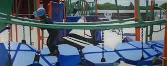Untitled ( Aniyah at the playground)
